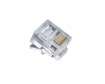 RJ12 Standrard Modular Plugs, Flat Cable, Stranded Wire