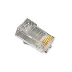 RJ45 Standard Modular Plugs, Flat Cable, Stranded Wire