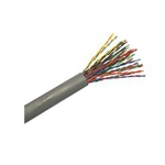 CAT3 25pair 24awg FT4/Riser Telephone Cable, Grey Jacket