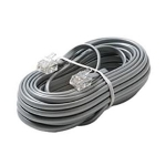 6 Conductor Telephone Line Cord, 7ft