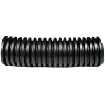 "2"" Split Loom Tubing, Polyethylene, BLACK,  50-Ft Roll"