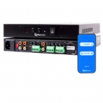4 Channel, 40 watt Power Amplifier, ETL certified