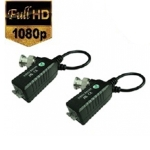 1 Channel Passive Video HD Balun w/Pigtails CVI/TVI/AHD/MPX (Pair)