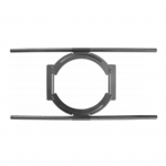 "Adjustible Bracket & 2 Tile Support Rails for  6.5"" In Ceiling Speakers, Universal Tile Bracket"