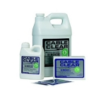 Cable Clear Cleaning Solution, 72 Towlettes/Pack