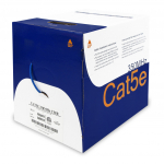 CAT5E Cable, FT4, 4 Pair 24awg, 350MHz (1000ft/box)