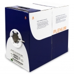 2 conductor 16 stand FT6 Plenum Rated Cable (1000ft/box)