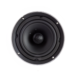"2 Way In-Ceiling Speaker, 6.5"" White Polypropylene Woofer"