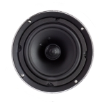 "2 Way In-Ceiling Speaker, 8"" Polypropylene Woofer"