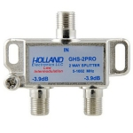2-way high performance CATV splitter, 1GHz