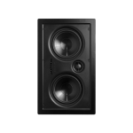 "In-Wall Home Theather Speaker - 5.25"" Injected Poly Woofer, Soft Silk Dome Tweeter"
