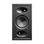 "Ghost™ Home Theater series - In-wall surround, 6.5"" injected glass fiber woofer, aluminum tweeter"