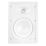 "2 Way In-Wall Speaker, 8"" Poly Woofer, 1"" Silk Dome Swivel Tweeter"