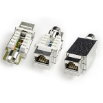 Category 5e Keystone Jack RJ-45, Fully Shielded