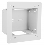 FPTV Enclosure, 2-Gang, White