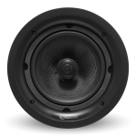 "2 Way In-Ceiling Speaker, 6.5"" Glass Fiber  Woofer, 1"" Titanium Swivel Tweeter"