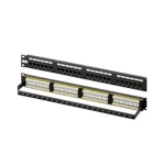 Patch Panel, CAT6, RJ45, 24 Port