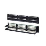Patch Panel, CAT6, RJ45, 48 Port