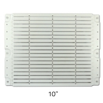 "Rail Mounting Plate, 10"" (for VERGE Network Enclosures)"