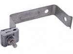 "Bracket, Standard Aerial Tap, 5"" Drop,  Stainless Steel, with hardware"