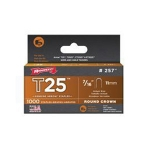 "Staples, 7/16"" 11mm, for T25 (pack of 1000)"