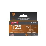 "Staples, 9/16"" 14mm, for T25 (pack of 1000)"