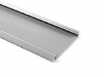 "Wiring Duct Cover, 2"" PVC, Gray, 6-ft length"