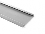 "Wiring Duct Cover, 3"" PVC, Gray, 6-ft lengths"
