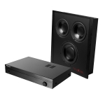 Trunami™-Pak In-Wall Subwoofer and Amplifier Package